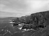 Walk on the Cliffs (pixel-art) Tags: mizenhead atlantic ireland ilforddelta100