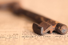 the key (Claudia Steinemann) Tags: key minimalismus makro weniger ist mehr