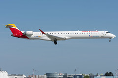 Iberia Regional / CRJ1000 / EC-MRI / LFRS 21 (_Wouter Cooremans) Tags: nte nantes airport aeroport atlantique atlantic spotting spotter avgeek aviation airplanespotting iberia regional crj1000 ecmri lfrs 21 iberiaregional airnostrum