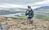 Keswick weekend, Walla Crag selfie. (alundisleyimages@gmail.com) Tags: climbing walking hiking rambling mountains hills cumbria thegreatoutdoors thebritishcountryside landscapephotography selfie england weather derwentwater keswick vista
