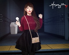 Ahreum's Diary 04-23-2025 (Jangsungyoung Resident) Tags: second life fashion mischief managed harry potter roleplay hogwarts wasabi pills miseria sese rowne teabunny izzies taikou soy la baguette seasons story kustom9 tss