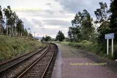 081 Dunphail station  (John Boyes)  081 (Ernies Railway Archive) Tags: dunphailstation hr lms scotrail