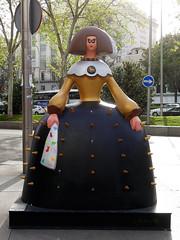 "Menina ""Menina osada"", de Felipao (Madrid) (Juan Alcor) Tags: felipao meninaosada metropoli paseoderecoletos madrid 2018 meninasmadridgallery exposicion menina meninas españa spain"