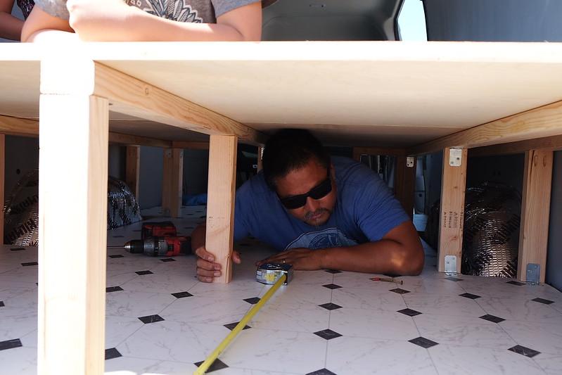Sprinter van build day 18 042618
