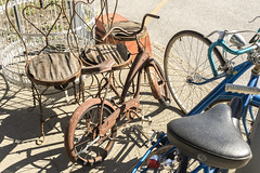 Rusty Bike (will139) Tags: bicycle rusty rust bike burlingtonindiana in29 ruralindiana antique old