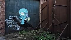 ROA & Bué the warrior / Malmar - 5 mei 2018 (Ferdinand 'Ferre' Feys) Tags: gent ghent gand belgium belgique belgië streetart artdelarue graffitiart graffiti graff urbanart urbanarte arteurbano ferdinandfeys roa buéthewarrior bué