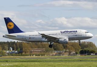 Lufthansa A319-100 D-AILP