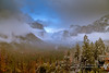 Under the majestic spell (rkpunnamraju) Tags: greatphotomoments landscape elcapital storm clouds tunnelview nps nationalpark yosemite