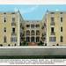 Olethian Court Apartments Vintage Postcard