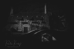 Alerford (PKpics1) Tags: allerford somerset england house cottage estate bridge arches blackandwhite bw landscape