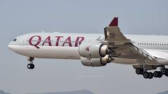 Airbus A340-642 I A7-AGD I Qatar Airways (Gustavo H. Braga) Tags: qatarairways aviation airplanes airport aviação aviacao aviao aeronaves aeroporto airbus barcelona spain elprat spotting spotter