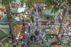 Market (biktoras07) Tags: madeira portugal market farmers people vegetables fruit exotic trees buyers umblelas green yellow black white colorful victorsantos paviment indoor constrution island
