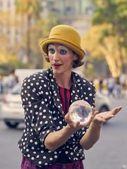 Surprise (Martin H.E) Tags: sony a7r2 90mm tamron buenos aires portrait retrato amateur photo alpha clown woman colors colores argentina art street pic