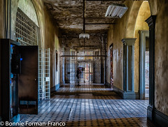 20171120_LANCASTER and WV_20171120-BFF_4914WV Penitentiary- (Bonnie Forman-Franco) Tags: penitentiary abandoned abandonedphotography abandonedpenitentiary abandonedprison prison westvirginia westvirginiapenitentiary westvirginiaprison moundsville photoladybon bonnie hallway prisonhallway ceiling nonhdr doorsandgates photography photographybywomen
