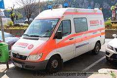 JUH-RTW Budapest (Stephan Dannigkeit) Tags: rtw karetka ambulans ktw mb sprinter johannita juh 316 cdi wa3 wandelgoltermann budapest ungarn hungaria węgry