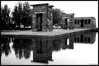 Atardece en El Templo de Debod, Madrid