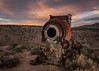 Old Cement Mixer (dwblakey) Tags: ladwp landscape bishop monocounty evening junk gorgeroad california owensrivergorge abandoned outside easternsierra owensriver rusty sky cementmixer antique history rust outdoors unitedstates us