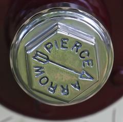 1913 Pierce-Arrow 48B Runabout Grease Cap (Bill Jacomet) Tags: keels and wheels concours delegance lakewood yacht club seabrook tx texas 2018 pierce arrow piercearrow grease cap hub hupcap 1913 13 48b runabout