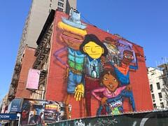 NYC 2018 (bella.m) Tags: graffiti streetart urbanart nyc usa manhattan newyork newyorkgraffiti art osgemeos mural
