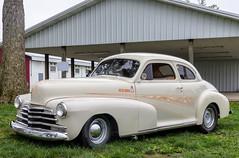 "1947 Chevrolet Coupe Street Rod - ""Old Hog"" (J Wells S) Tags: chevy streetrod hotrod cincystreetrodscarshowandswapmeet butlercountyfairgrounds hamilton ohio oldschool oldhog 1947chevroletcoupe"