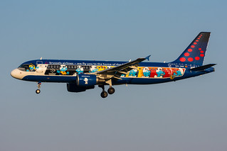 OO-SND - Brussels Airlines - Airbus A320-214 -