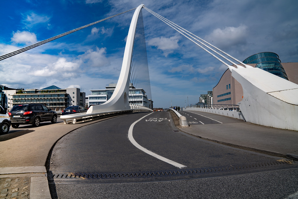 VIEWS OF THE SAMUEL BECKETT BRIDGE [APRIL 2018]-138421