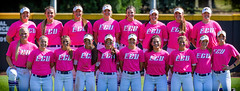 ECU Softball '18 (R24KBerg Photos) Tags: ecu eastcarolina ecupirates eastcarolinauniversity eastcarolinapirates greenvillenc canon strikeoutcancer breastcancerawareness pink 2018 sports aac ncaa athletics athletes americanathleticconference softball team