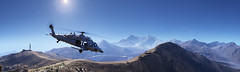 Tom Clancy's Ghost Recon - Wildlands (Matze H.) Tags: tom clancys ghost recon wildlands helicopter black hawk i know it isnt bolivia mountains lake sun blue sky ansel screenshot