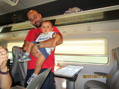 Italia Rail Passengers