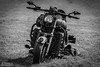 Skull themed Boss Hoss at Legal Streetrace, Holeby (ThomasMaribo) Tags: motorcycle motorbike bike streetrace holeby denmark danmark tamron nikon d500 70200 black white blackandwhite greyscale v8 bosshoss tamronsp70200mmf28divcusdg2