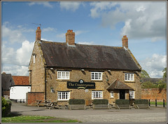 The Countryman, Staverton (Jason 87030) Tags: pub countryman village staverton northants northamptoinshire building stone april 2018 light shot framed border architecture inn restaurant menu food beer ale uk england weather sony