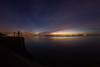 4am (Rob Pitt) Tags: river mersey sunrise eastham ferry wirral merseyside fisheye samyang 8mm august 2017 uk england weather rob pitt photography 550d silhouette