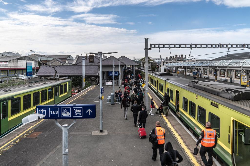 BRAY DALY RAILWAY STATION [COUNTY WICKLOW]-139477
