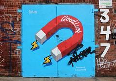 Good Luck. (Anne-Christelle) Tags: streetart graffitis fresque qoodluck chance brooklyn bushwick nyc newyork art
