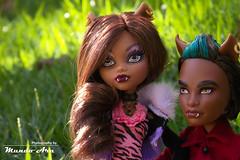 Clawdeen e Clawd Wolf, MH (Mundo Ara) Tags: clawdeen clawd wolf monster high dolls doll
