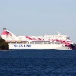Silja Line Baltic Princess navigating through the archipelago thumbnail