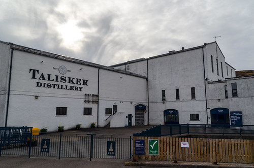 Talisker distillery, Isle of Skye