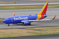 Southwest Airlines (SWA) - Boeing 737-700 - N569WN - Portland International Airport (PDX) - June 3, 2015 3 341 RT CRP (TVL1970) Tags: nikon nikond90 d90 nikongp1 gp1 geotagged nikkor70300mmvr 70300mmvr aviation airplane aircraft airlines airliners portlandinternationalairport portlandinternational portlandairport portland pdx kpdx n569wn southwestairlines southwest swa cfwai westjetairlines westjet boeing boeing737 boeing737700 737ng b737 b737ng 737 737700 737700wl boeing7377ct 7377ct 7377ctwl aviationpartners winglets cfminternational cfmi cfm56 cfm567b24