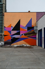 Art Mural (Bracus Triticum) Tags: art mural calgary カルガリー アルバータ州 alberta canada カナダ 3月 弥生 さんがつ yayoi newlifemonth 2018 平成30年 spring march 三月 sangatsu