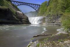 Upper falls (K McGuckin) Tags: letchworth letchworthstatepark sony sonyalpha sonya7ii zeiss zeiss1635 1635f4 zeisslenses nature waterfall newyork water