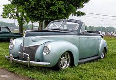 1940 Mercury Eight Convertible (J Wells S) Tags: 1940mercuryeightconvertible mercury merc streetrod hotrod ragtop cincystreetrodscarshowandswapmeet butlercountyfairgrounds hamilton ohio oldschool