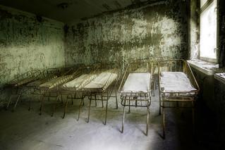 Infant Cribs in Pripyat