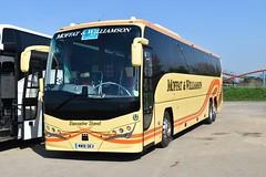 Moffat & Williamson - MW18DEV (Transport Photos UK) Tags: coach transportphotosuk adamnicholson volvo plaxton malton flamingoland scotland bus transport adamnicholsontransport photos uk