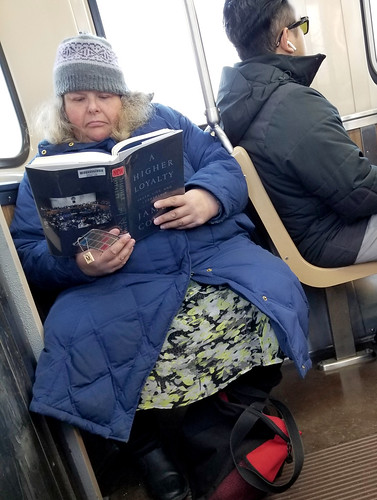 James Comey book fan photo
