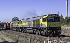 QUBE Locomotives QBX001 and QBX003 on the DOWN through Malden NSW (Time Off Photography) Tags: locomoticeqbx001 locomotiveqbx003 maldennsw qube wollondillyshire olympusomdem10 paulleader trainspotting train locomotive loco engine diesel railway rail railroad railtransport transport transportation freight nsw newsouthwales australia qbx001 railpage:class=373 railpage:loco=qbx001 rpauqbxclass rpauqbxclassqbx001 qbx003 railpage:loco=qbx003 rpauqbxclassqbx003