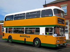 Sunderland Busways 838 (RCU838S) - 22-04-18 (04) (peter_b2008) Tags: sunderlandbusways tyneandwearpte twpte 838 rcu838s daimler fleetline alexander preserved buses transport buspictures