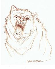 oso a lapicero (ivanutrera) Tags: draw dibujo drawing dibujoalapicero dibujoaboligrafo boligrafo sketch sketching animal bear oso lapicero wild wildlife