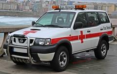 Cruz Roja A Coruña (emergenciases) Tags: emergencias españa 112 acoruña galicia vehículo cruzroja nissan terrano