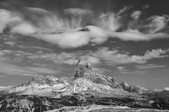 Cloud Art #2 (Andrew Luyten) Tags: bw dolomites dreizinnen exodus piana trecimedilavaredo clouds mountain auronzodicadore veneto italy it