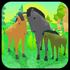 ICON (Volla Gaming Studio) Tags: horse family simulator 3d environment simulation jungle wild animal supreme elephant dangerous sanke thrilling adventure jump android game